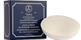 Parfémy, Parfumerie, kosmetika Tradiční mýdlo na holení - Taylor Of Old Bond Street Traditional Luxury Shaving Soap Refill