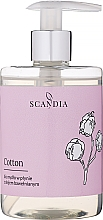Parfémy, Parfumerie, kosmetika Tekuté mýdlo s bavlněným olejem - Scandia Cosmetics Cotton