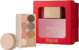 Parfémy, Parfumerie, kosmetika Sada - Paese Selflove Set 2 (eyeshadow/12g + f/powder/10g)