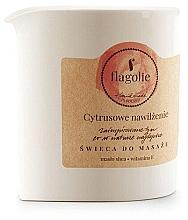 Parfémy, Parfumerie, kosmetika Masážní svíčka Citrusové zvlhčení - Flagolie Citrus Hydration Massage Candle