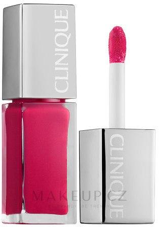 Tekutá rtěnka - Clinique Pop Lacquer Lip Colour Primer — foto Go-Go Pop