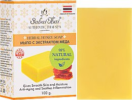 Parfémy, Parfumerie, kosmetika Mýdlo s extraktem z medu - Sabai Thai Herbal Honey Soap