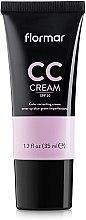 Parfémy, Parfumerie, kosmetika CC krém maskující tmavé kruhy pod očima a pigmentové skvrny - Flormar CC Cream Anti-Dark Circles