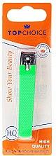 Parfémy, Parfumerie, kosmetika Kleštičky na nehty 76954, L, zelené - Top Choice Colours Nail Clippers