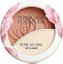 Parfémy, Parfumerie, kosmetika Pudr-balzám na obličej - Physicians Formula Rose All Day Set & Glow