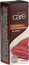 Balzám na rty s kakaovým máslem a vitaminem E - Avon Care Cocoa Butter Lip Balm — foto N1