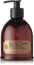 Parfémy, Parfumerie, kosmetika Mycí gel na ruce - The Body Shop Spa of the World Balkan Juniper Hand Wash