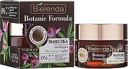 Parfémy, Parfumerie, kosmetika Pleťová hydratační maska - Bielenda Botanic Formula Hemp Oil + Saffron Moisturizing Mask