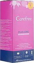 Parfémy, Parfumerie, kosmetika Denní hygienické flexibilní vložky s vůní svěžestí, 40ks - Carefree Plus Long Fresh Scent