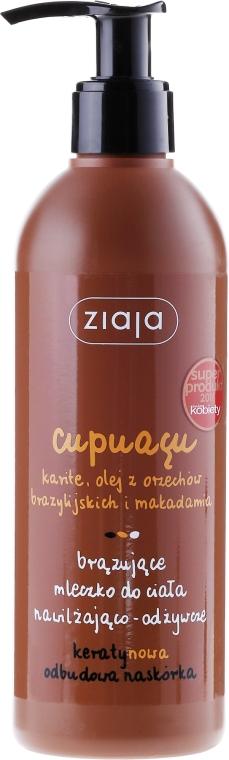 """Bronzijící mléko pro tělo """"Hydratace a výživa"""" - Ziaja Bronzing Body Milk"""