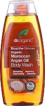 Parfémy, Parfumerie, kosmetika Organický tělový mycí přípravek s arganovým olejem - Dr. Organic Moroccan Argan Oil Body Wash