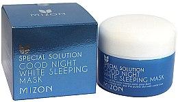 Parfémy, Parfumerie, kosmetika Noční rozjasňující maska na obličej - Mizon Good Night White Sleeping Mask