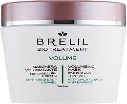 Parfémy, Parfumerie, kosmetika Maska pro dodání objemu - Brelil Bio Treatment Volume Hair Mask