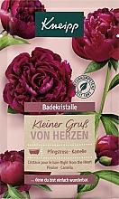 "Parfémy, Parfumerie, kosmetika Krystaly do koupele ""Right from the heart"" - Kneipp Right From The Hearth Bath Crystals"
