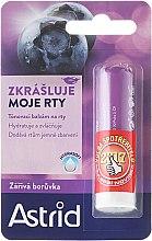 Parfémy, Parfumerie, kosmetika Balzám na rty - Astrid Lip Balm Bright Blueberry