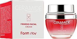 Parfémy, Parfumerie, kosmetika Zpevňující pleťový krém s ceramidy - FarmStay Ceramide Firming Facial Cream