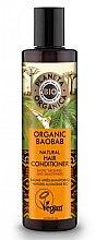 Parfémy, Parfumerie, kosmetika Posilující balzám na vlasy - Planeta Organica Organic Baobab Natural Hair Conditioner