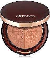 Parfémy, Parfumerie, kosmetika Bronzující pudr - Artdeco Bronzing Powder Compact Long-Lasting