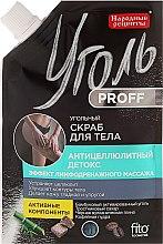 Parfémy, Parfumerie, kosmetika Uhelný scrub na tělo Anticelulitidní detox - Fito Kosmetik Lidové recepty