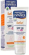 Parfémy, Parfumerie, kosmetika Dětský krém na ochranu obličeje - Instituto Espanol Babe Protective Facial Cream SPF20