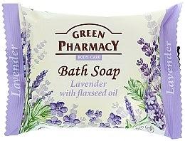 "Parfémy, Parfumerie, kosmetika Mýdlo ""Levandule s lněným olejem"" - Green Pharmacy"