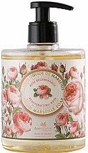 "Parfémy, Parfumerie, kosmetika Tekuté mýdlo ""Růže"" - Panier des Sens Rose Liquid Marseille Soap"