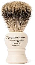 Parfémy, Parfumerie, kosmetika Holicí štětec, P2233, béžový - Taylor of Old Bond Street Shaving Brush Pure Badger size S
