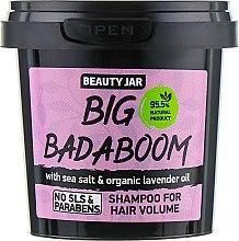 "Parfémy, Parfumerie, kosmetika Šampon pro objem vlasů ""Big Badaboom"" - Beauty Jar Shampoo For Hair Volume"
