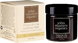 Parfémy, Parfumerie, kosmetika Zesvětlující pleťová maska - John Masters Organics Moroccan Clay Purifying Mask