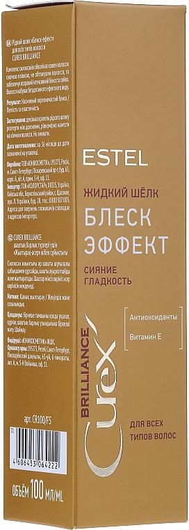 Tekuté hedvábí - Estel Professional Curex Brilliance Silk