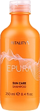 Parfémy, Parfumerie, kosmetika Šampon pro ochranu vlasů proti slunci - Vitality's Epura Sun Care Shampoo