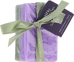 Parfémy, Parfumerie, kosmetika Sada Oliva a jasmín - Le Chatelard 1802 Olive & Jasmin (soap/100g + soap/100g)