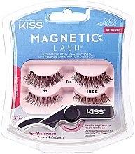 Parfémy, Parfumerie, kosmetika Umělé magnetické řasy - Kiss Magnetic Lash Type 2