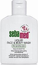 Parfémy, Parfumerie, kosmetika Čisticí lotion na obličej a tělo - Sebamed Liquid Face and Body Wash