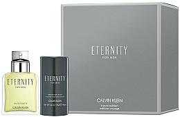 Parfémy, Parfumerie, kosmetika Calvin Klein Eternity For Men - Sada (edt/100ml + deo/75ml)