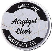 Parfémy, Parfumerie, kosmetika Gel na nehty - Chiodo Pro Acryl Gel Clear Gel