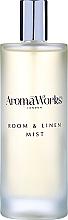 Parfémy, Parfumerie, kosmetika Vonný bytový sprej Cituplný - AromaWorks Soulful Room Mist