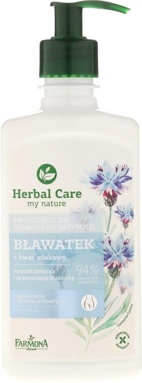 "Gel pro intimní hygienu ""Chrpa"" - Farmona Herbal Care"