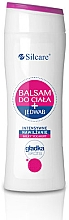 Parfémy, Parfumerie, kosmetika Tělový balzám s hedvábím - Silcare Milky Yoghurt Body Balm