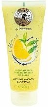Parfémy, Parfumerie, kosmetika Posilující tělový peeling Zelený čaj a citron - Perfecta Firming Body Peeling
