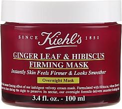 Papír pro depilaci v proužcích - Kiehl`s Ginger Leaf & Hibiscus Firming Mask — foto N1