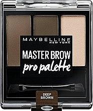 Parfémy, Parfumerie, kosmetika Paleta stínů na obočí - Maybelline Master Brow Pro Palette Kit