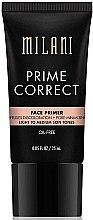 Parfémy, Parfumerie, kosmetika Korekční báze pod make-up - Milani Prime Correct Diffuses Discoloration + Pore-minimizing Face Primer Light/Medium