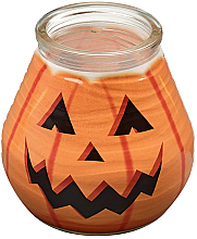 Parfémy, Parfumerie, kosmetika Dekorativní svíčka ve skle Patiolight Pumpkin, 94/91 mm - Bolsius Candle