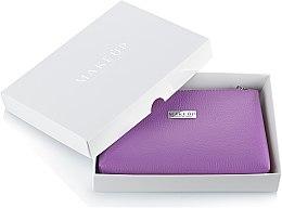 """Parfémy, Parfumerie, kosmetika Kosmetická taška fialová """"Lucky"""" v dárkové krabičce - MakeUp"""
