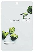 Parfémy, Parfumerie, kosmetika Omlazující pleťová maska s brokolicí - Eunyul Daily Care Mask Sheet Broccoli