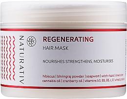 "Parfémy, Parfumerie, kosmetika Maska na vlasy ""Obnovení"" - Naturativ Regeneration Mask"