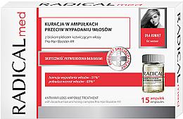 Parfémy, Parfumerie, kosmetika Komplex v ampulích proti vypadávání vlasů pro ženy - Radical Med Anti Hair Loss Ampoule Treatment For Woman