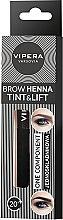 Parfémy, Parfumerie, kosmetika Jednosložková henna na obočí - Vipera Tint&Lift Brow Henna