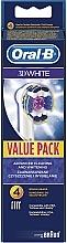 Parfémy, Parfumerie, kosmetika Nástavce pro elektrický zubní kartáček - Oral-B 3D White Brush Heads EB18